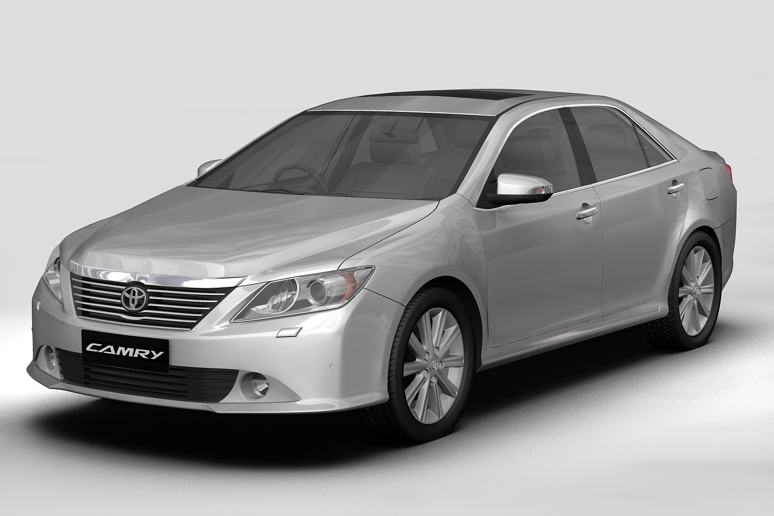 2012 toyota camry (asian) Model 3d 3ds max fbx c4d lwo hrc xsi obj 136193