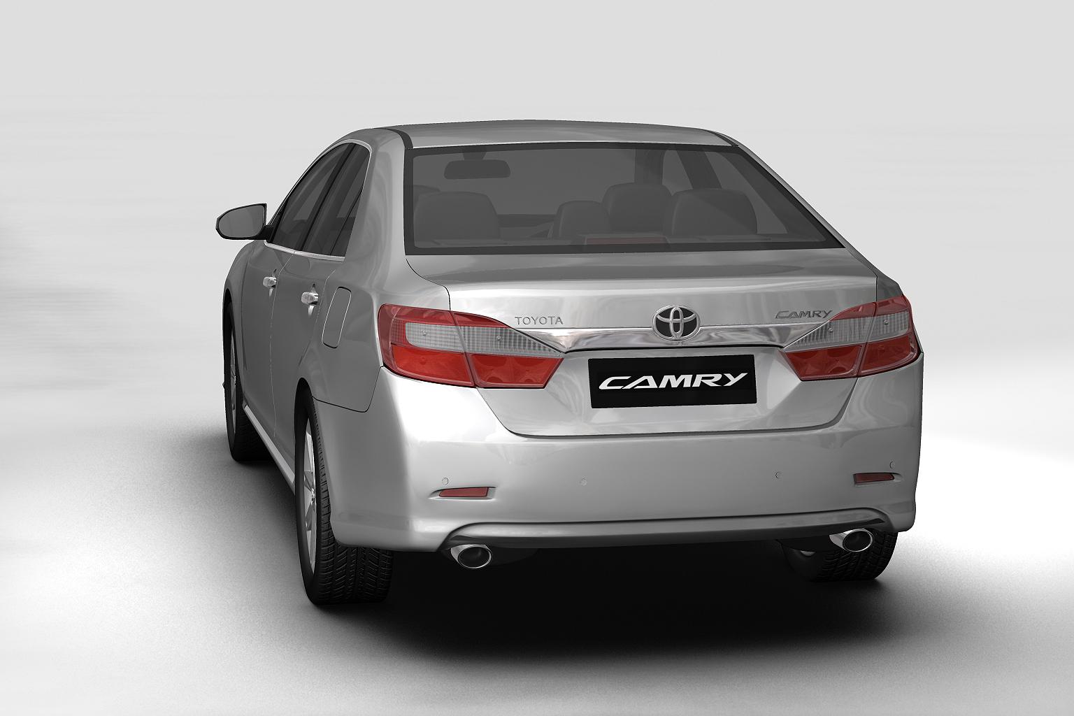 2012 toyota camry (asian) Model 3d 3ds max fbx c4d lwo hrc xsi obj 136200