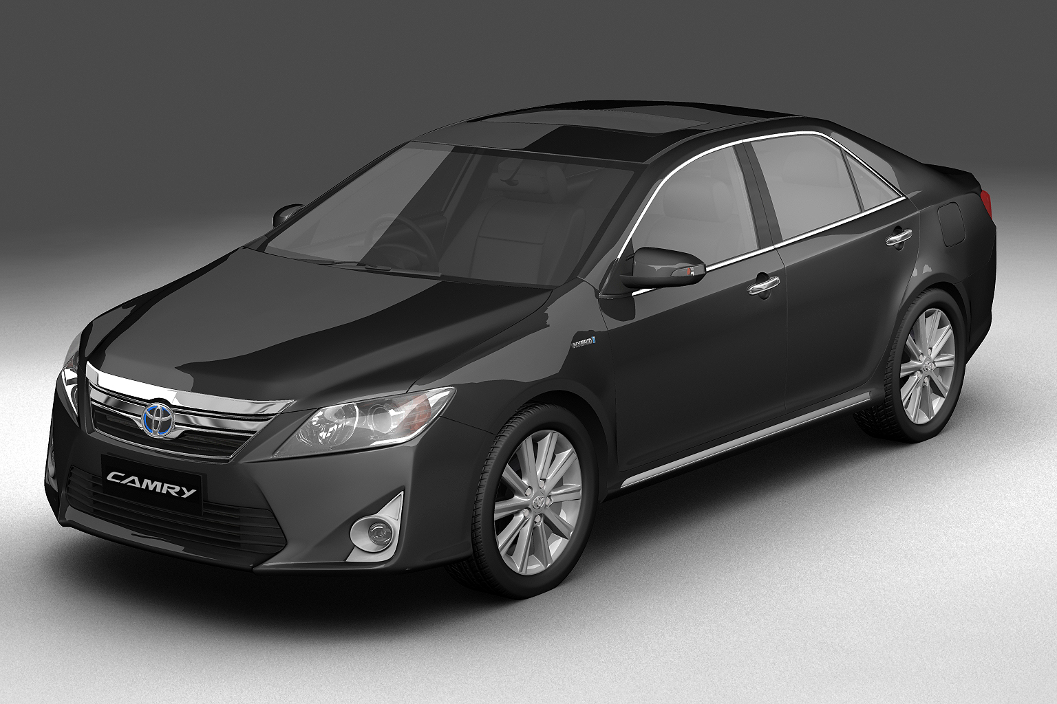 2012 toyota camry hybrid (asian) 3d model 3ds max fbx c4d lwo hrc xsi obj 136182