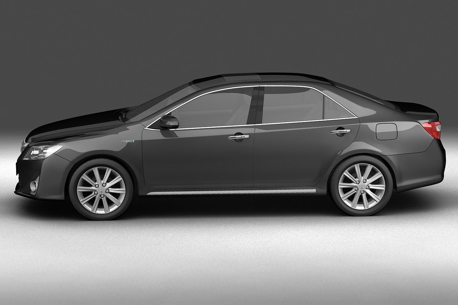 2012 toyota camry model 3d hybrid (asian) 3ds max fbx c4d lwo hrc xsi obj 136183