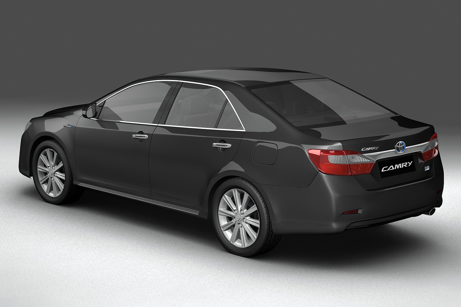 2012 toyota camry model 3d hybrid (asian) 3ds max fbx c4d lwo hrc xsi obj 136184
