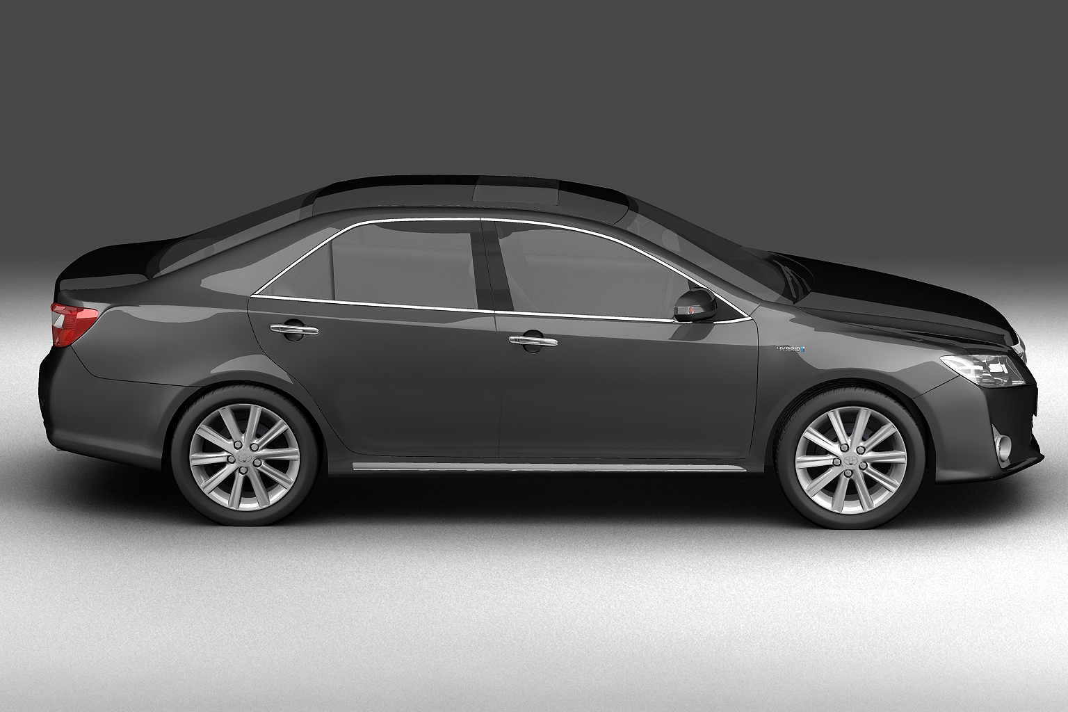 2012 toyota camry model 3d hybrid (asian) 3ds max fbx c4d lwo hrc xsi obj 136186