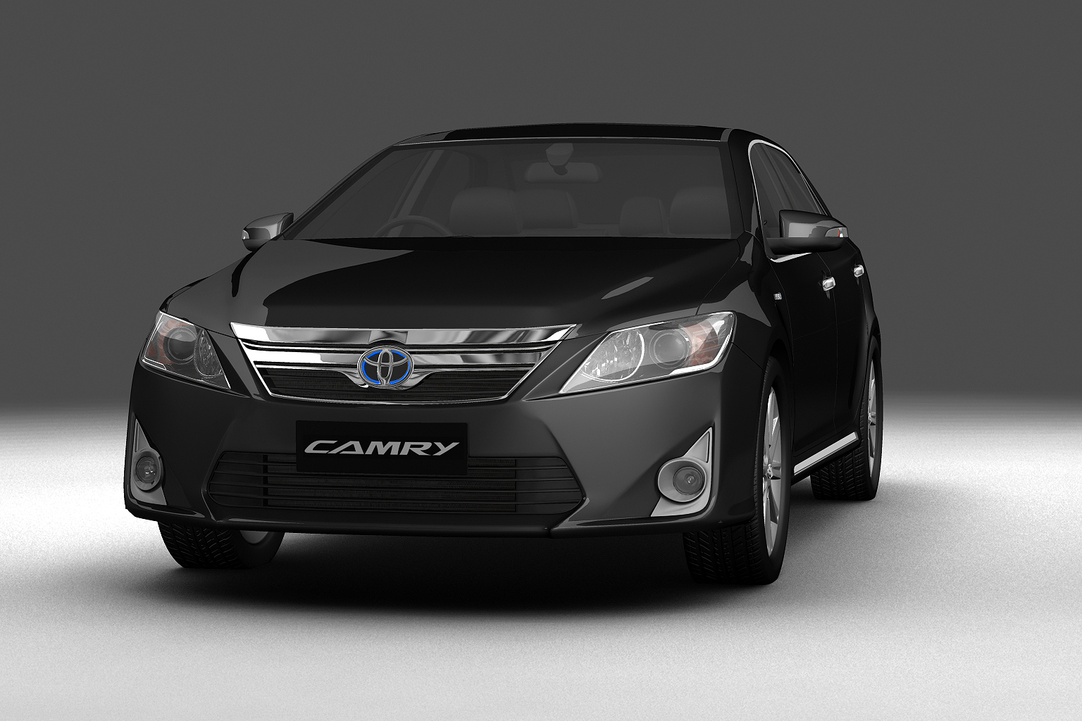 2012 toyota camry model 3d hybrid (asian) 3ds max fbx c4d lwo hrc xsi obj 136188