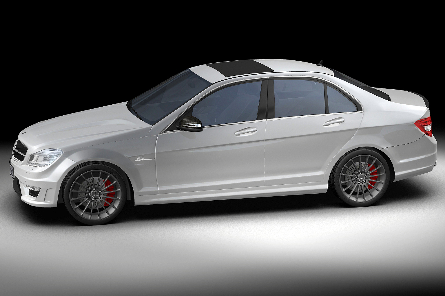 2012 mercedes benz c63 amg 3d model buy 2012 mercedes for Mercedes benz c63 amg