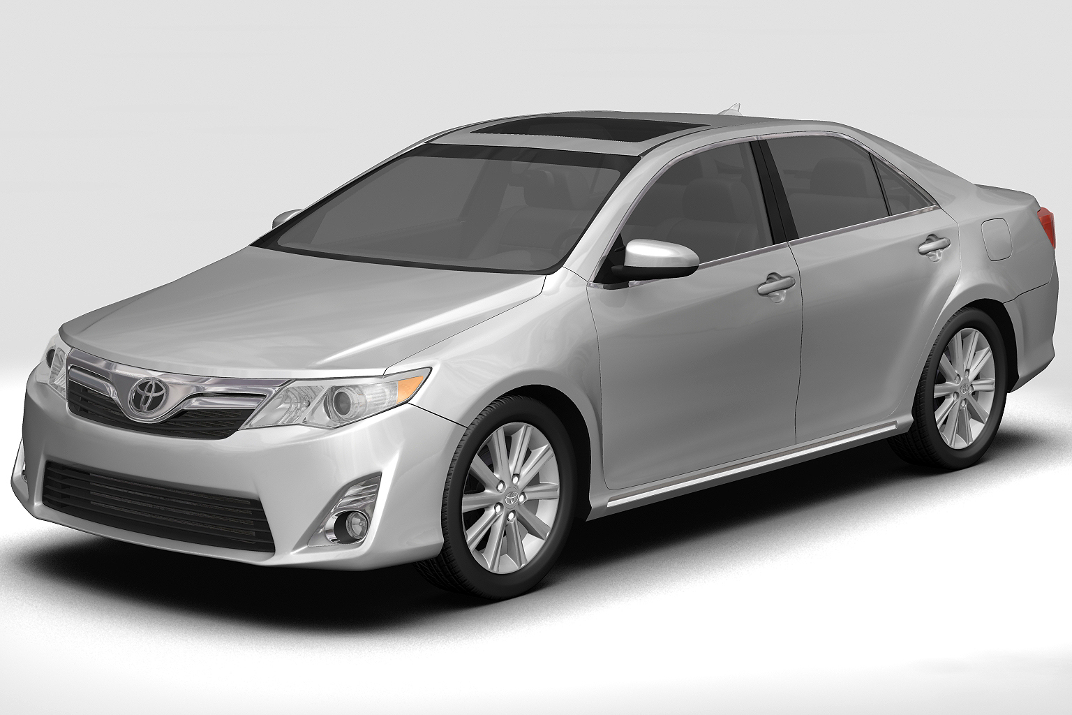 2012 Toyota Camry 3d Model Buy 2012 Toyota Camry 3d