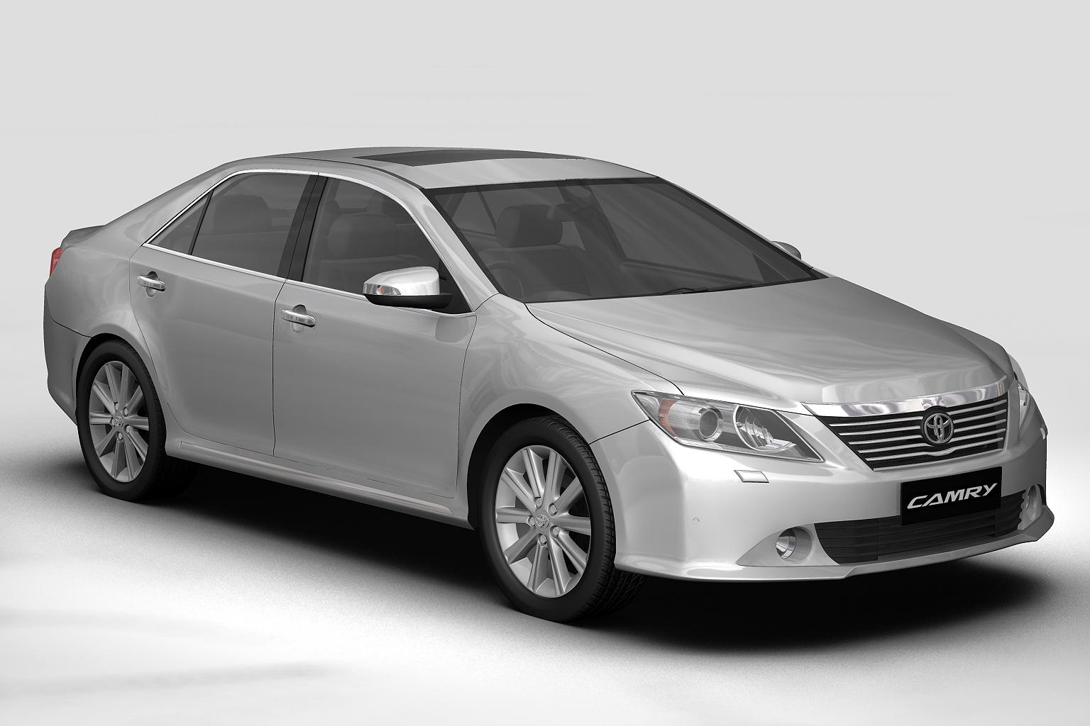Hyundai Elantra 2012 Model >> 2012 Toyota Camry (Asian) 3D Model – Buy 2012 Toyota Camry (Asian) 3D Model | FlatPyramid
