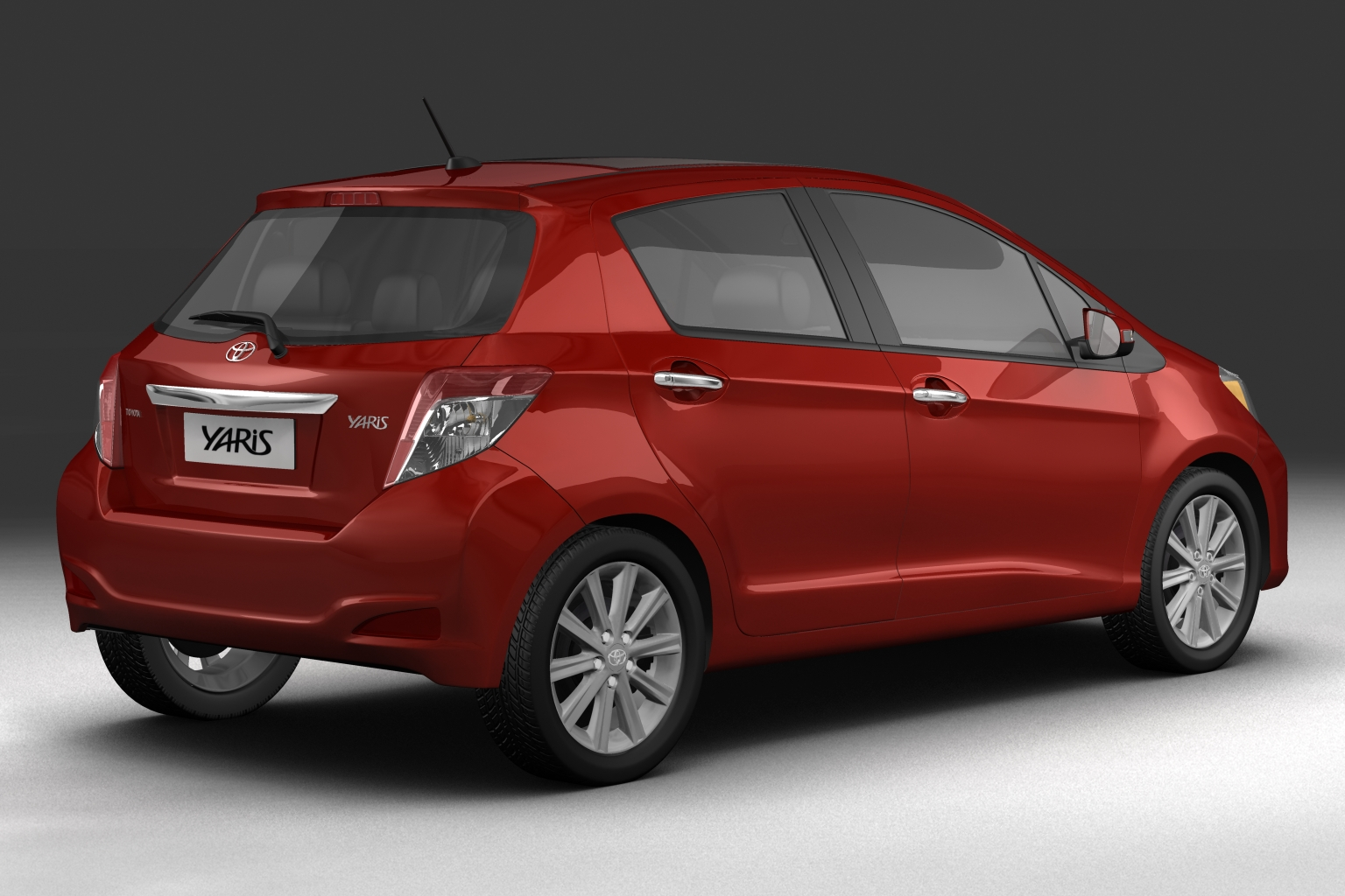 2012 toyota yaris vitz 3d model buy 2012 toyota yaris vitz 3d model flatpyramid. Black Bedroom Furniture Sets. Home Design Ideas