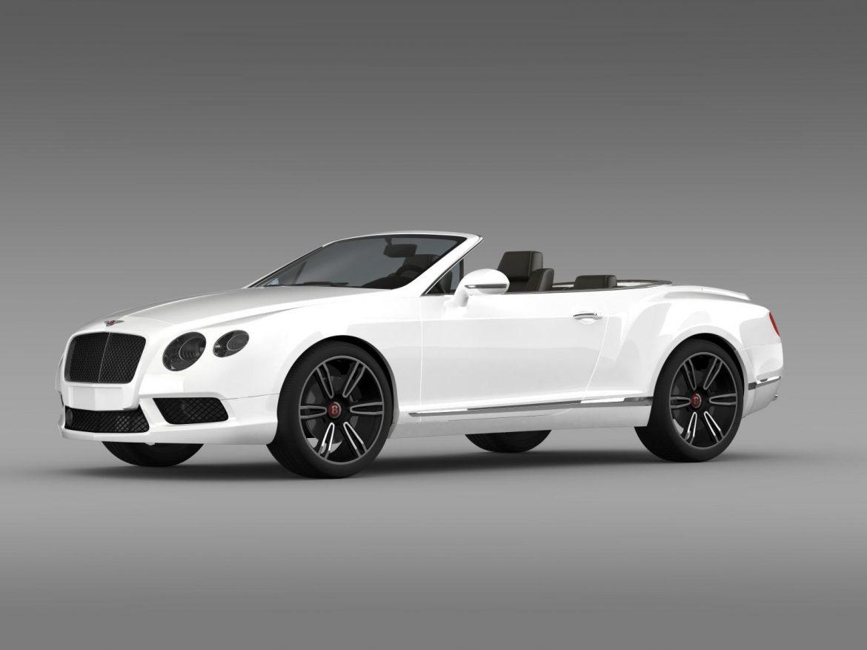 2013 bentley тив GT v8 3d загвар 3ds max fbx c4d lwo ma mb hrc xsi obj 164081