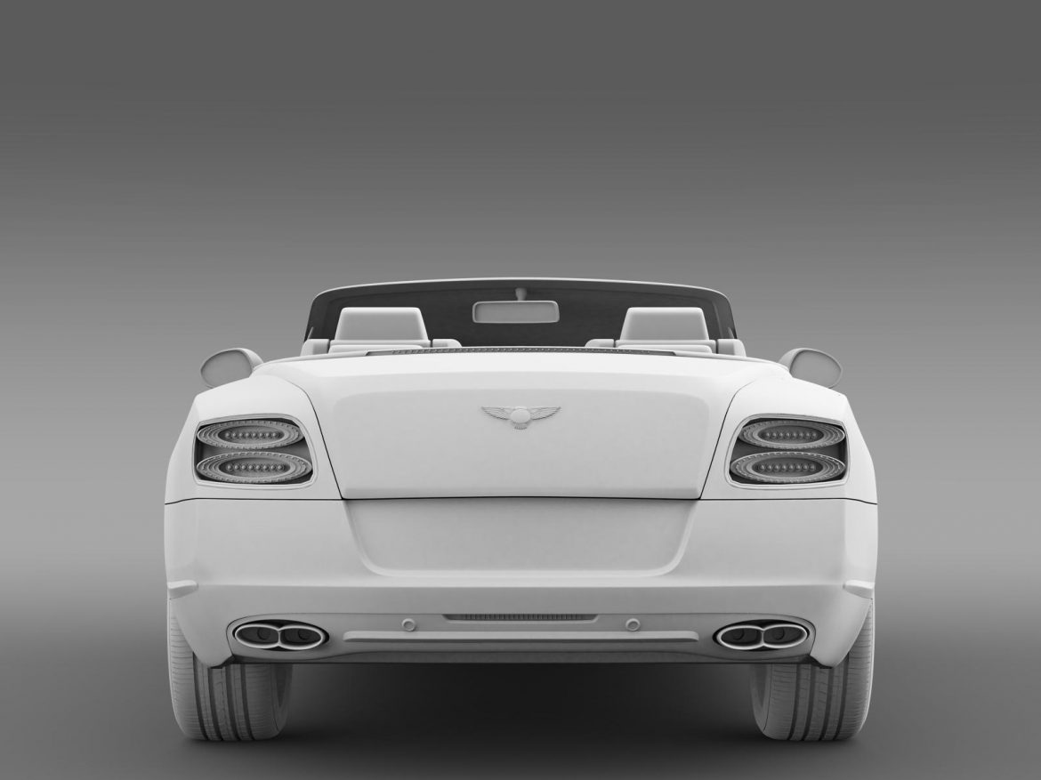 2013 bentley continental gtc v8 3d model 3ds max fbx c4d lwo ma mb hrc xsi obj 164090