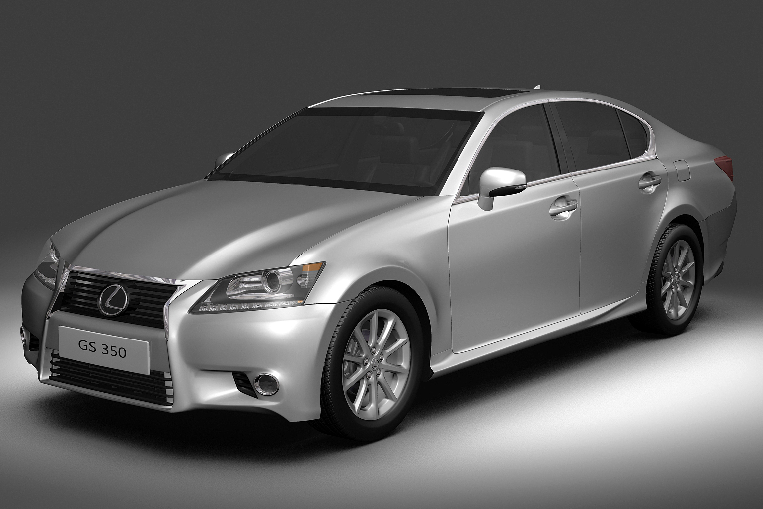 2013 lexus gs350 3d model 3ds max fbx c4d lwo hrc xsi obj 136258