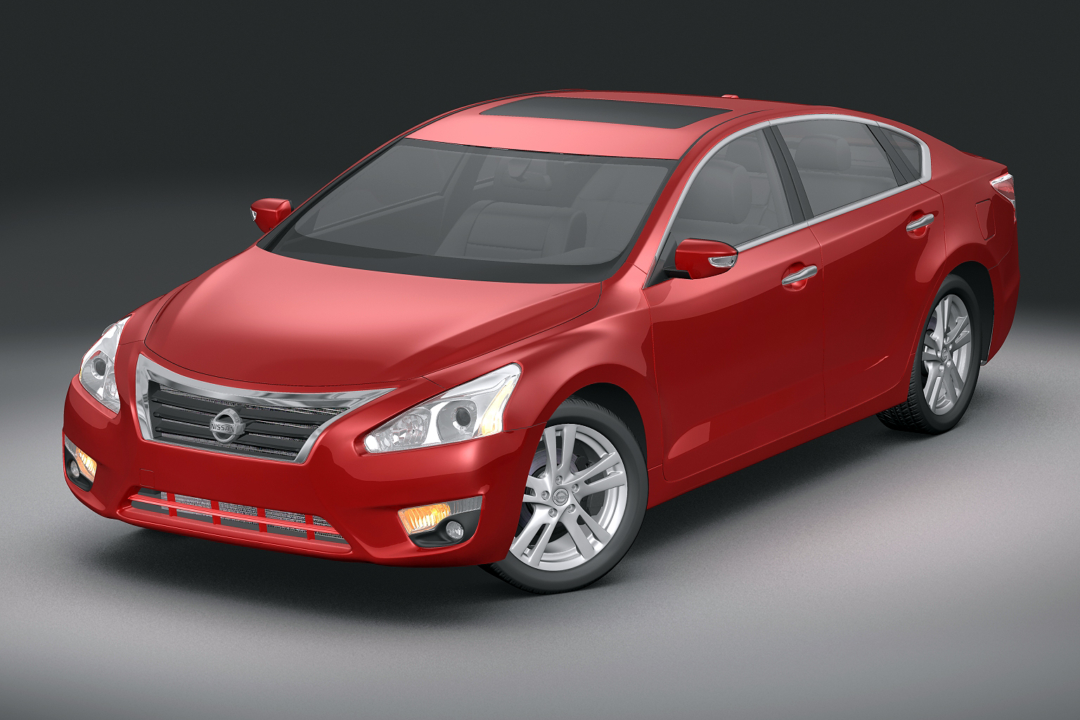 2013 nissan altima 3d model 3ds max fbx lwo obj 141834