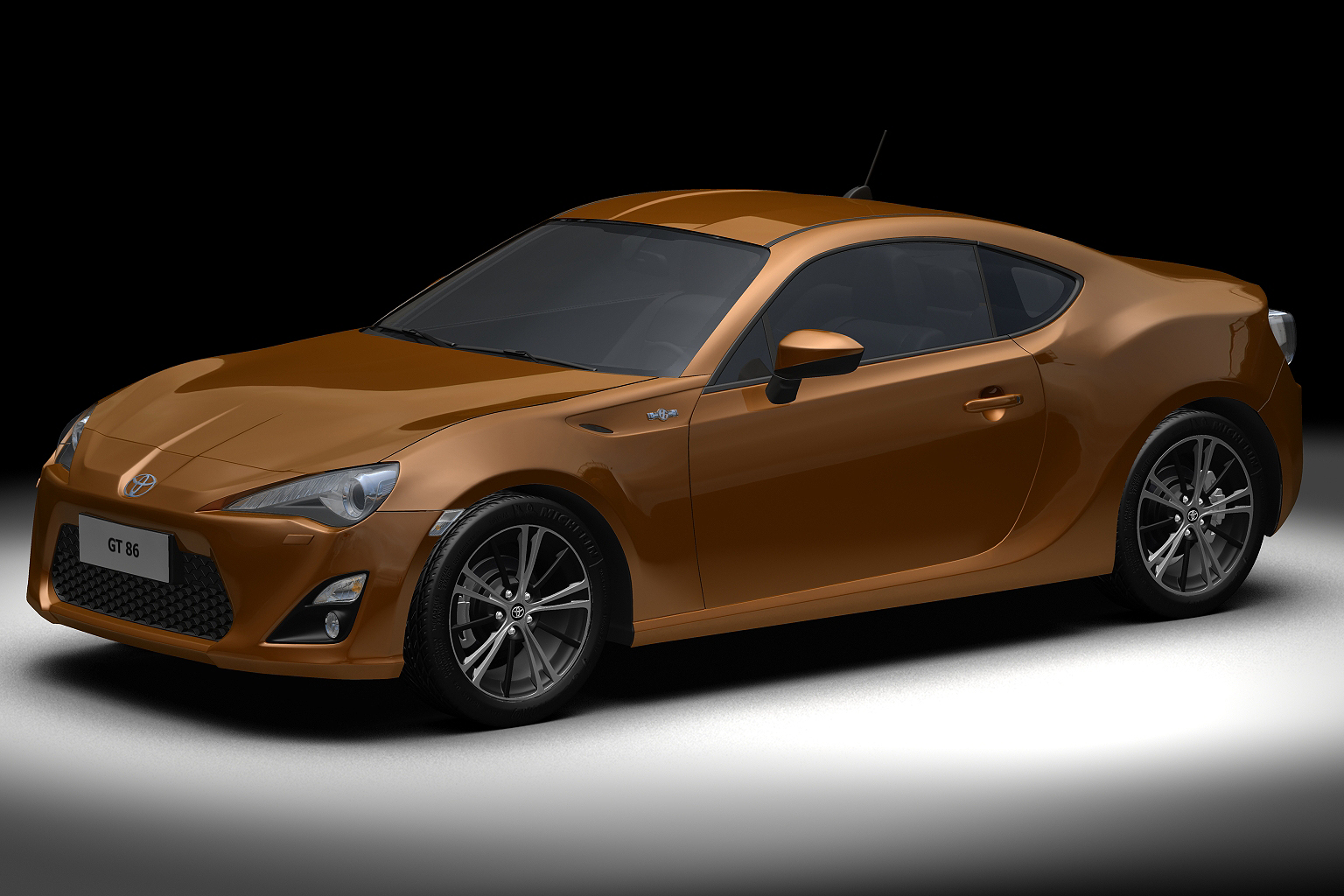 2013 model GT86 3d model 3ds max fbx c4d lwo hrc xsi obj 136149