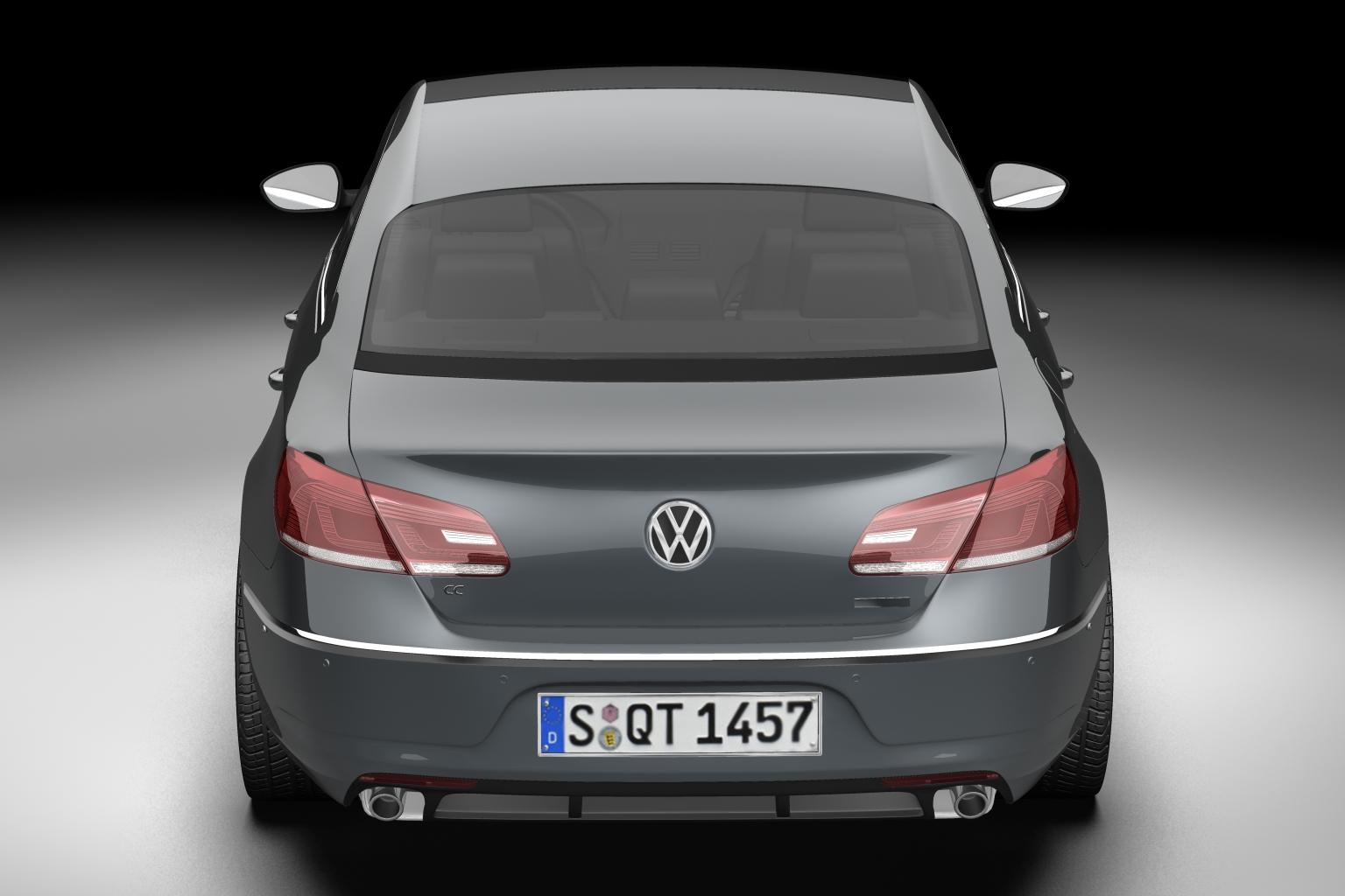 2013 volkswagen cc 3d model 3ds max fbx c4d lwo hrc xsi obj 136218