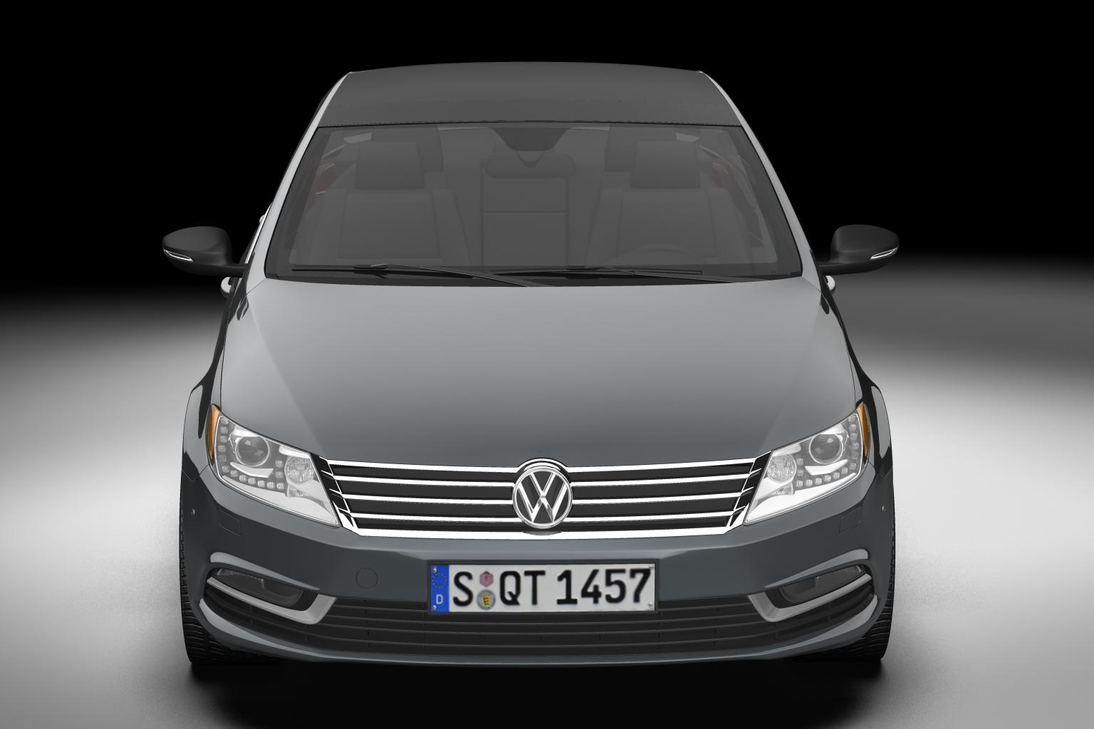 2013 volkswagen cc 3d model 3ds max fbx c4d lwo hrc xsi obj 136222