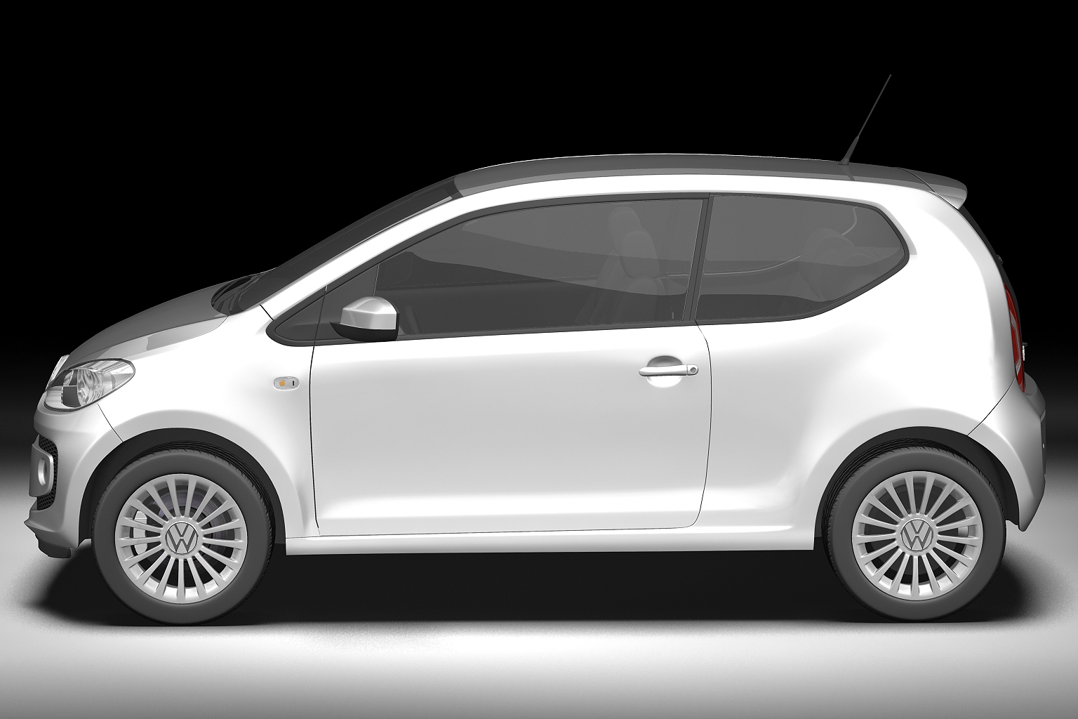 2013 volkswagen up 3d model 3ds max fbx c4d lwo hrc xsi obj 136205