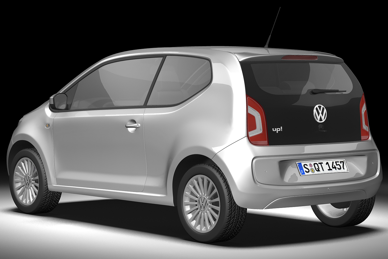 2013 volkswagen up 3d model 3ds max fbx c4d lwo hrc xsi obj 136206