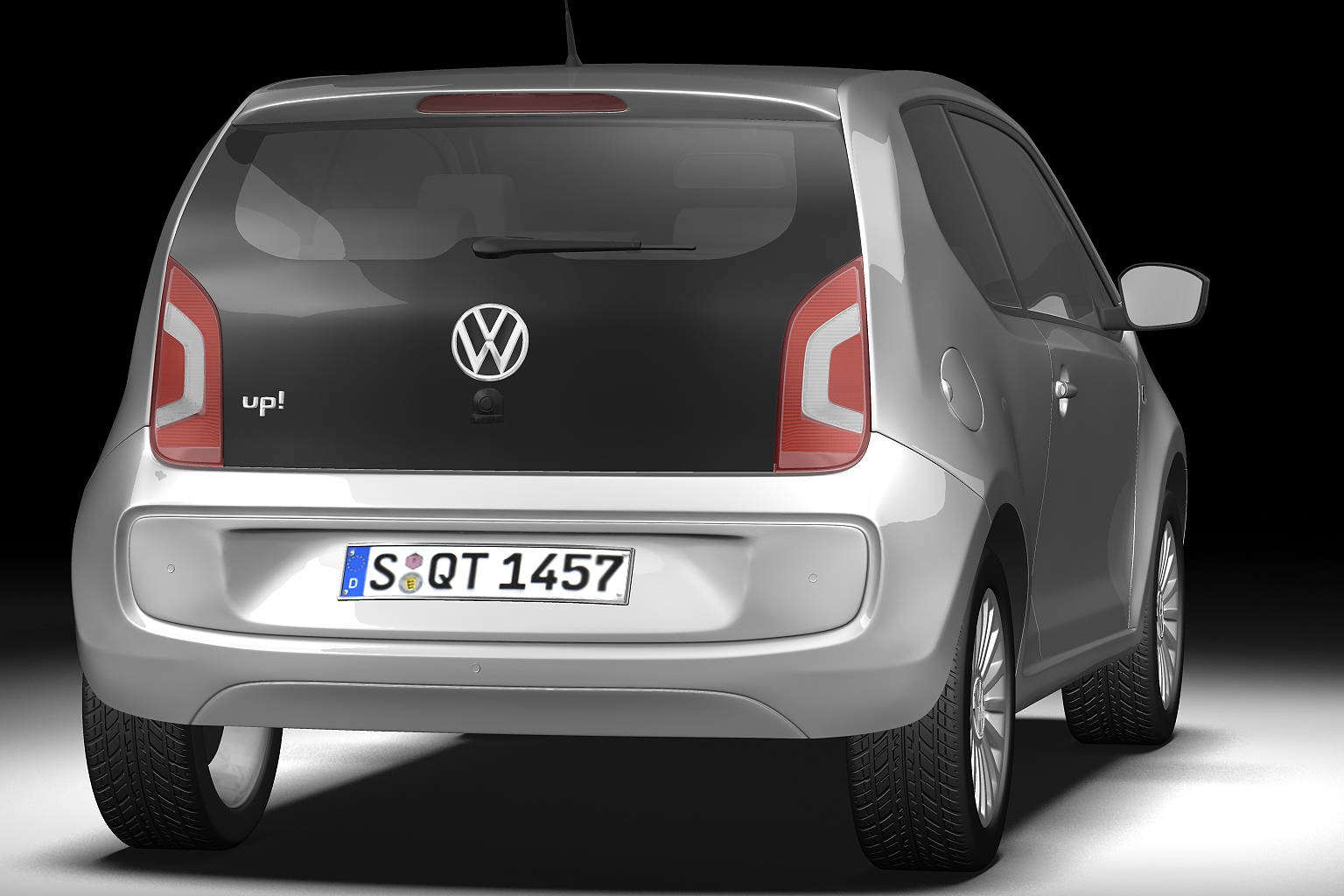 2013 volkswagen up 3d model 3ds max fbx c4d lwo hrc xsi obj 136207