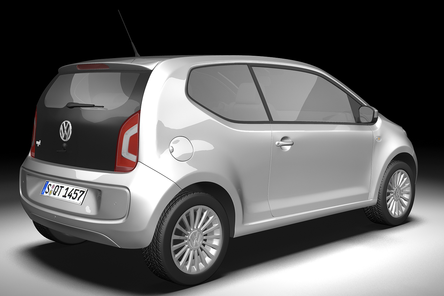 2013 volkswagen up 3d model 3ds max fbx c4d lwo hrc xsi obj 136208