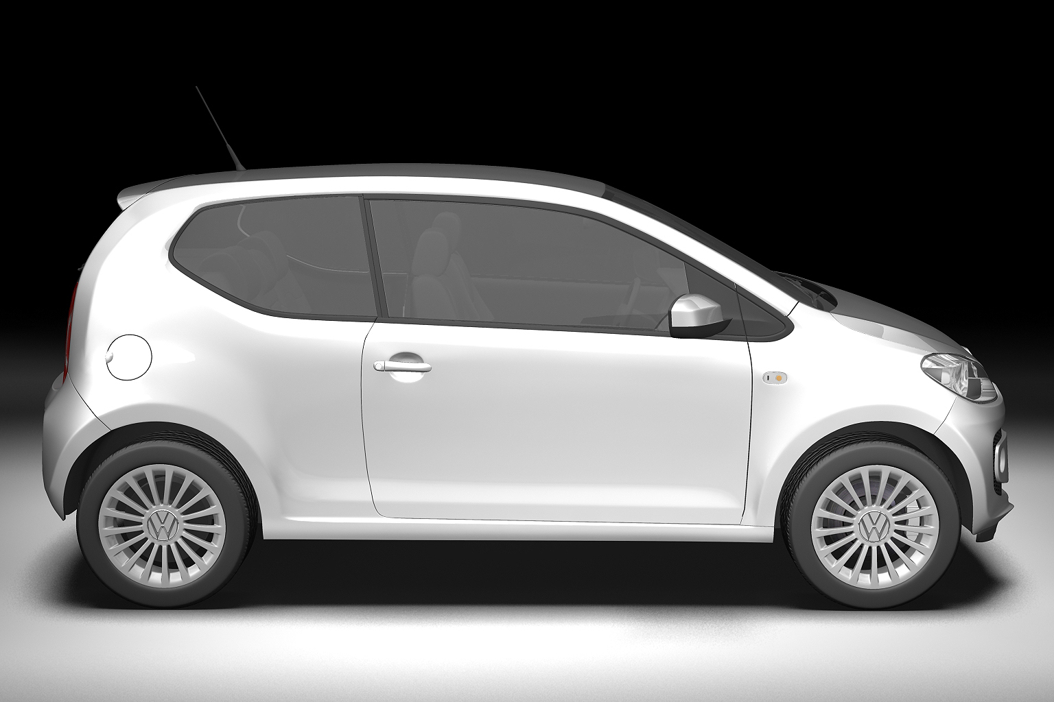 2013 volkswagen up 3d model 3ds max fbx c4d lwo hrc xsi obj 136209