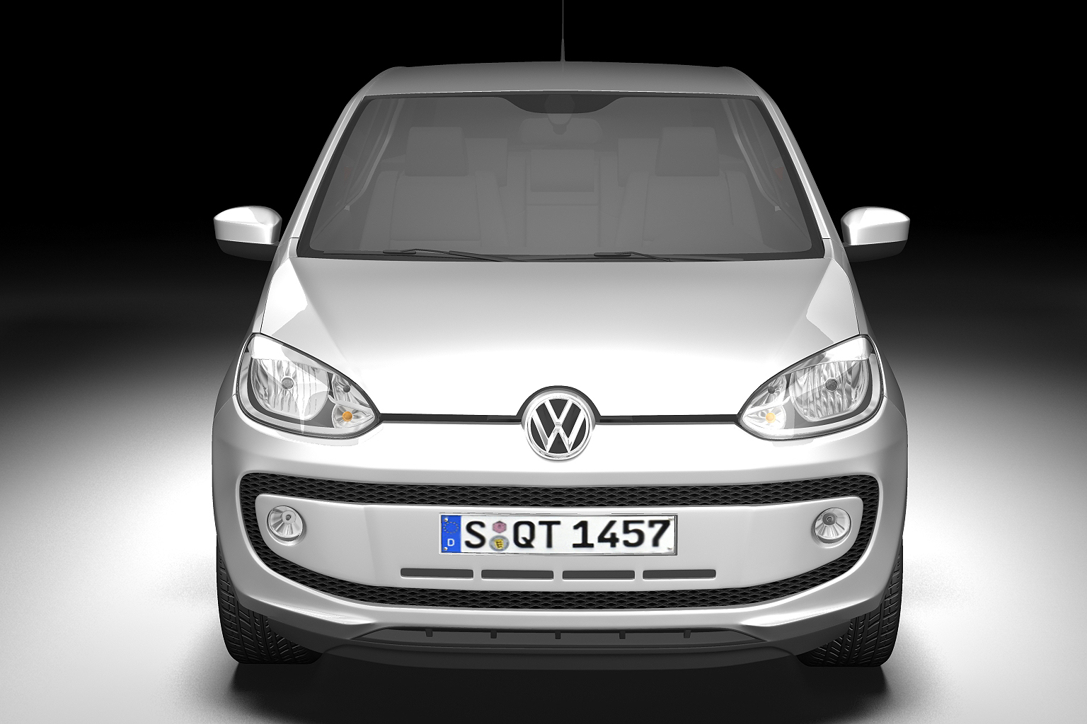 2013 volkswagen up 3d model 3ds max fbx c4d lwo hrc xsi obj 136211