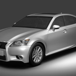 2013 Lexus GS350 ( 712.94KB jpg by 3dken )
