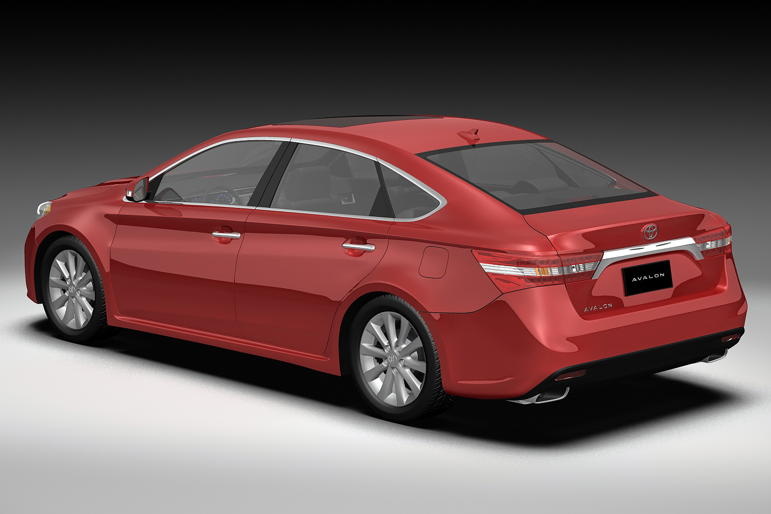 2013 toyota avalon 3d model buy 2013 toyota avalon 3d model flatpyramid. Black Bedroom Furniture Sets. Home Design Ideas