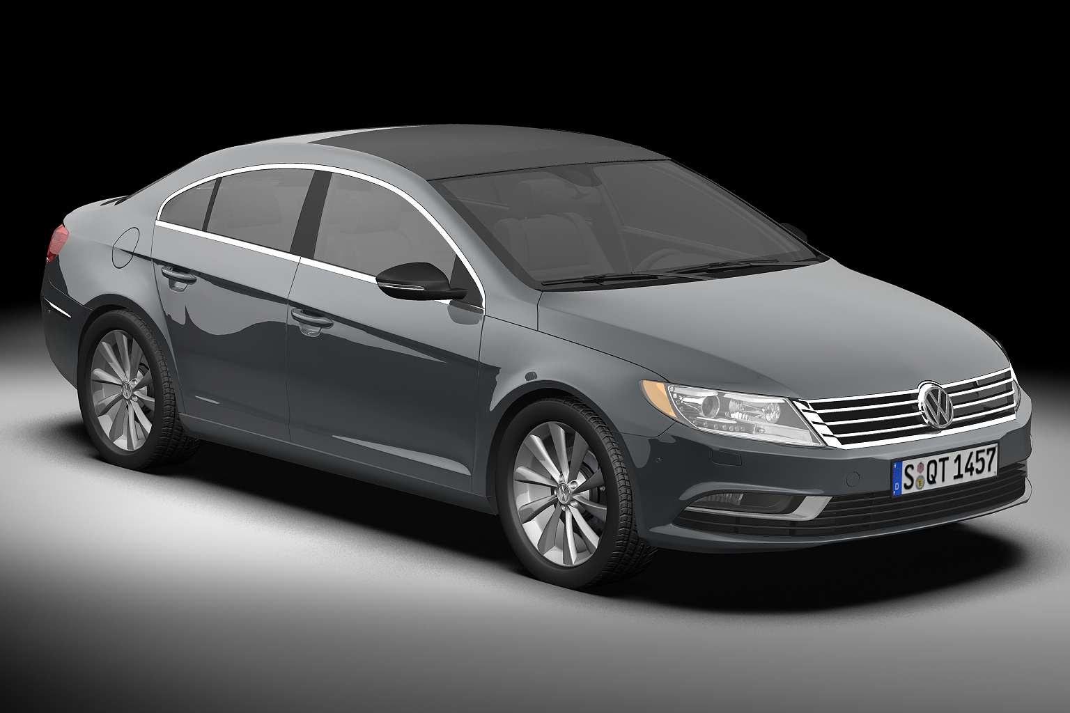 2013 volkswagen cc 3d model buy 2013 volkswagen cc 3d model flatpyramid. Black Bedroom Furniture Sets. Home Design Ideas
