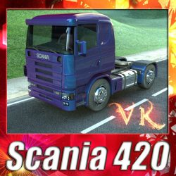 3D Model Truck Scania 420 High Detail ( 160.72KB jpg by VKModels )