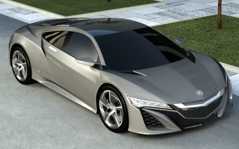 Acura nsx 3d model 3ds max 150398