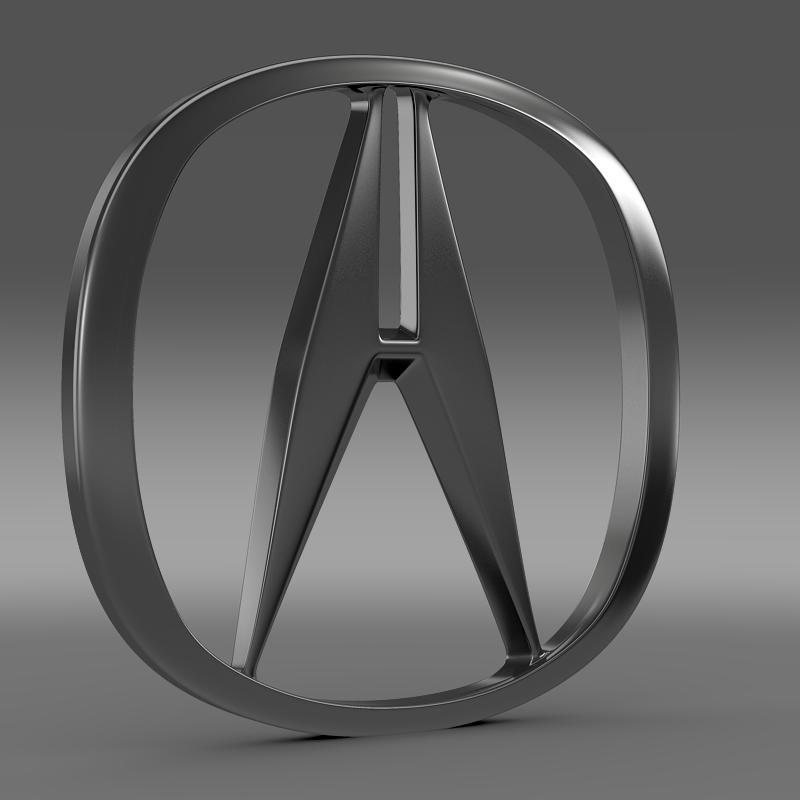 Acura Logo 3D Model