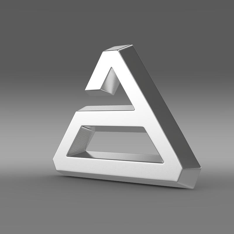 logo agrale 3d model 3ds max fbx c4d lwo ma mb hrc xsi obj 124487
