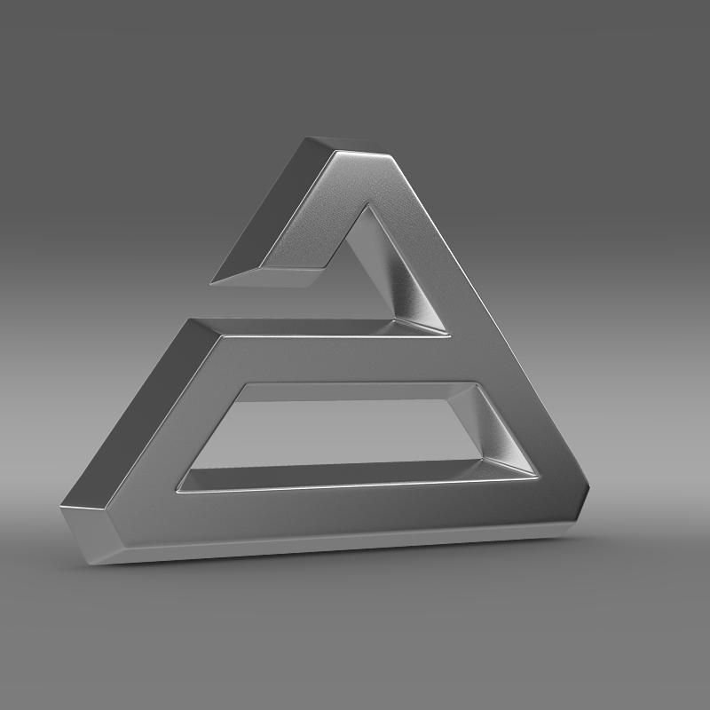 agrale logo 3d model 3ds max fbx c4d lwo ma mb hrc xsi obj 124489