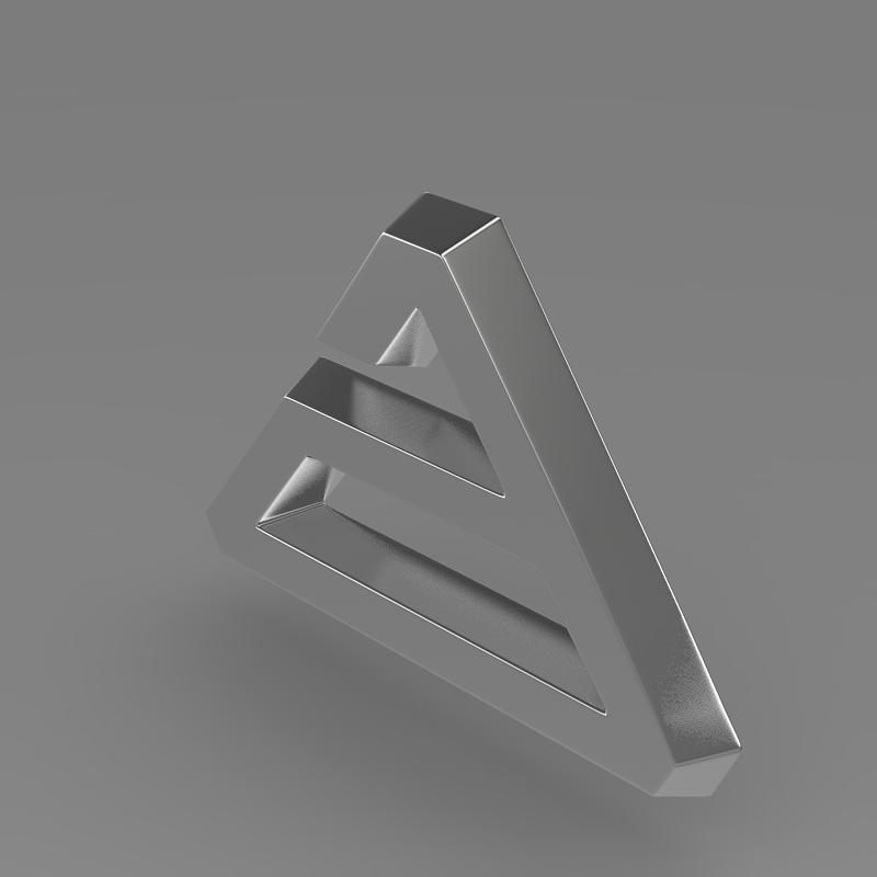 agrale logo 3d model 3ds max fbx c4d lwo ma mb hrc xsi obj 124490