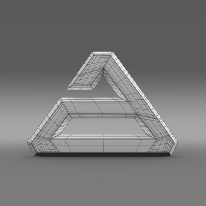 agrale logo 3d model 3ds max fbx c4d lwo ma mb hrc xsi obj 124493