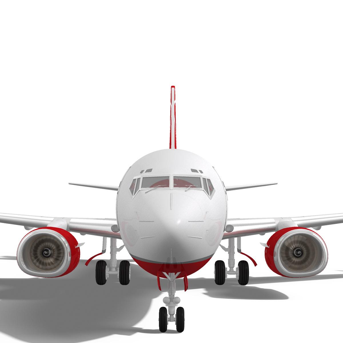 airberlin boeing 737-700w 3d model max fbx c4d ma mb obj 120512