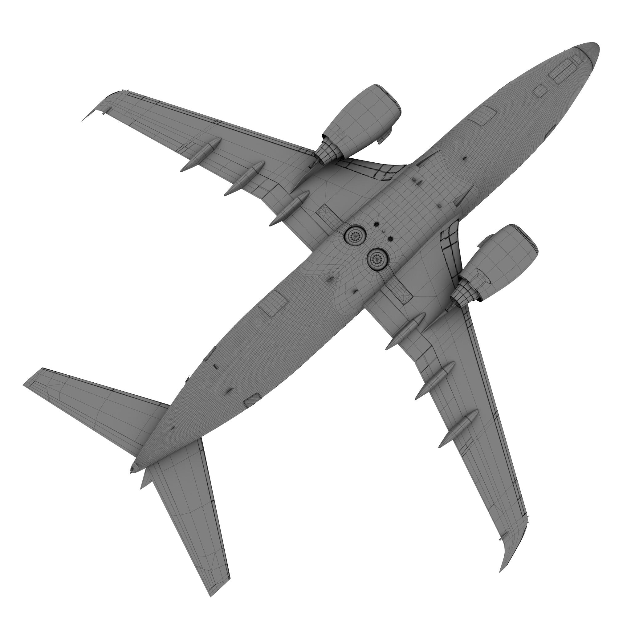 airberlin boeing 737-700w 3d model max fbx c4d ma mb obj 120519