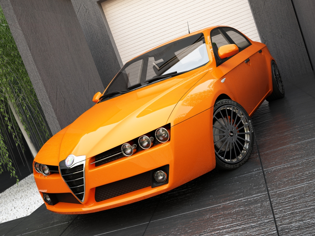 alfa romeo 159 3d model max other texture obj 119960