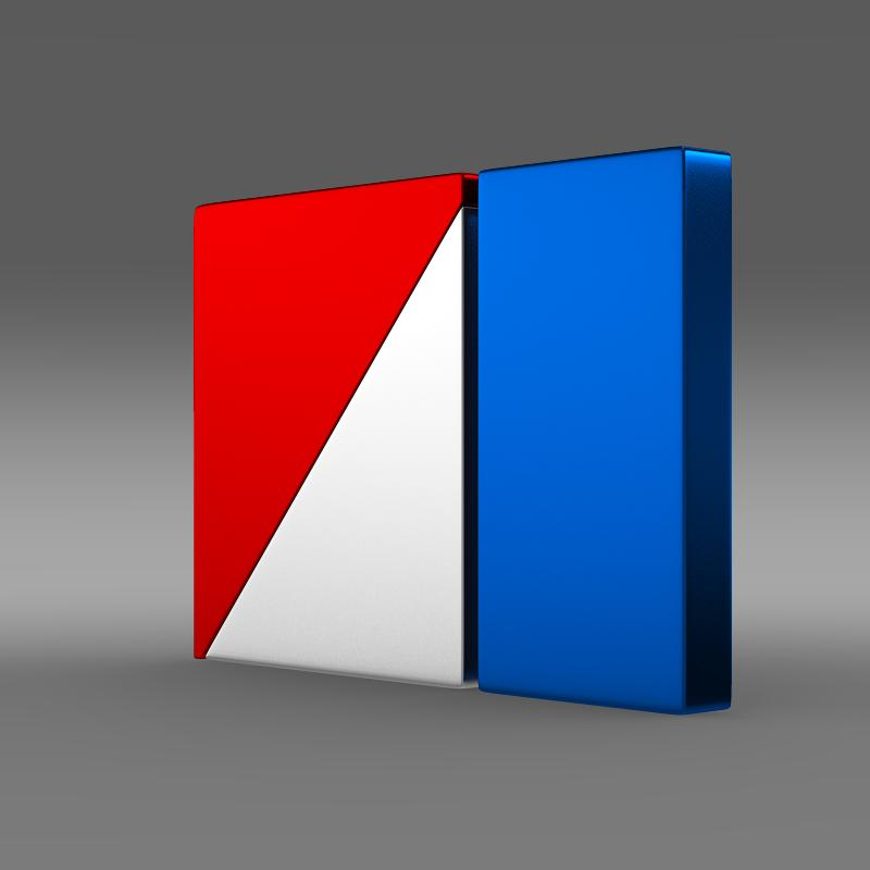 amc logo 3d model 3ds max fbx c4d lwo ma mb hrc xsi obj 151259