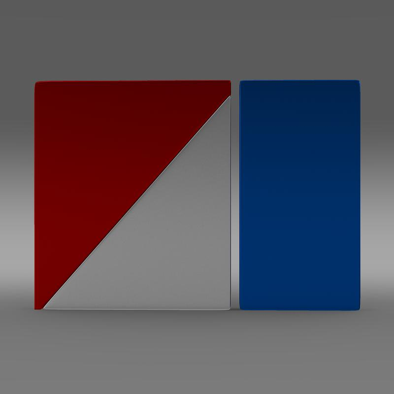 amc logo 3d model 3ds max fbx c4d lwo ma mb hrc xsi obj 151260