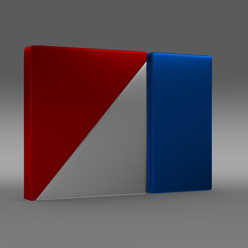 amc logo 3d model 3ds max fbx c4d lwo ma mb hrc xsi obj 151261