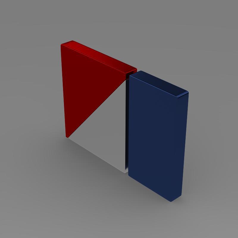 amc logo 3d model 3ds max fbx c4d lwo ma mb hrc xsi obj 151262
