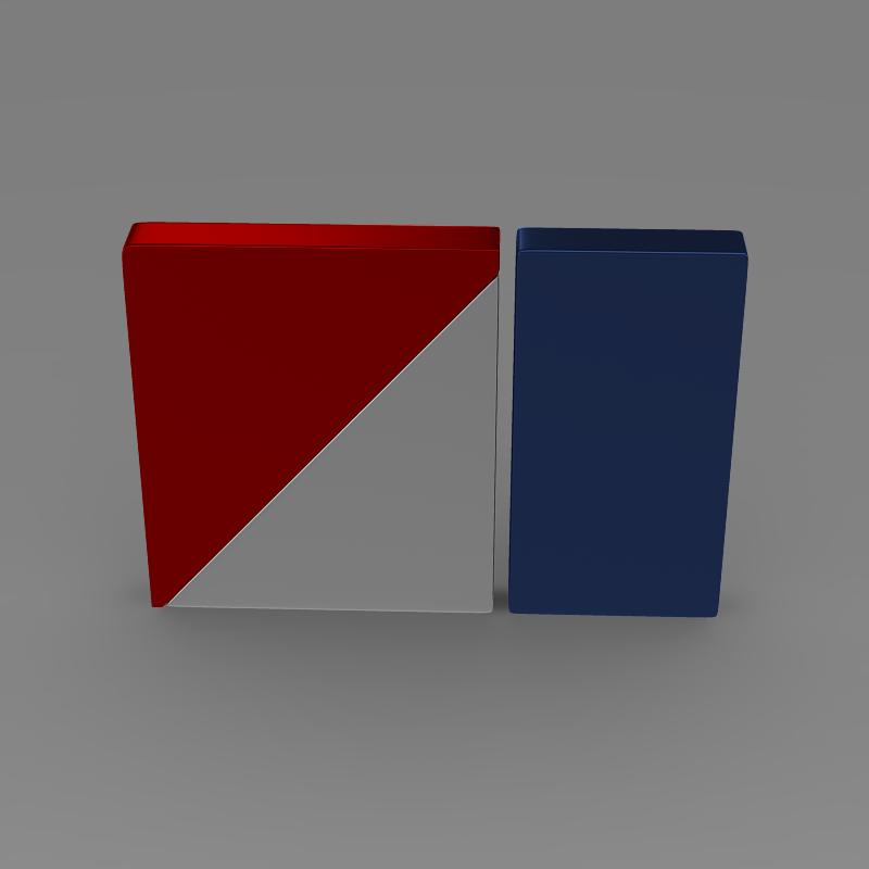 amc logo 3d model 3ds max fbx c4d lwo ma mb hrc xsi obj 151263