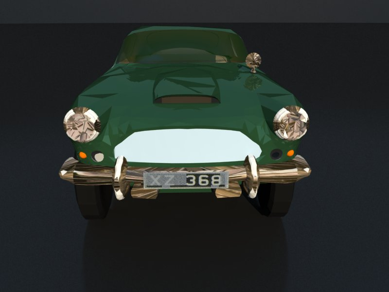 aston martin db4 3d model 3ds dxf dwg skp obj 163537