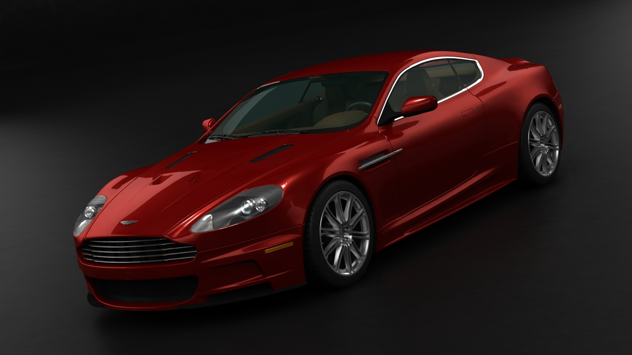 aston martin dbs 2009 3d model 3ds max fbx c4d 143832