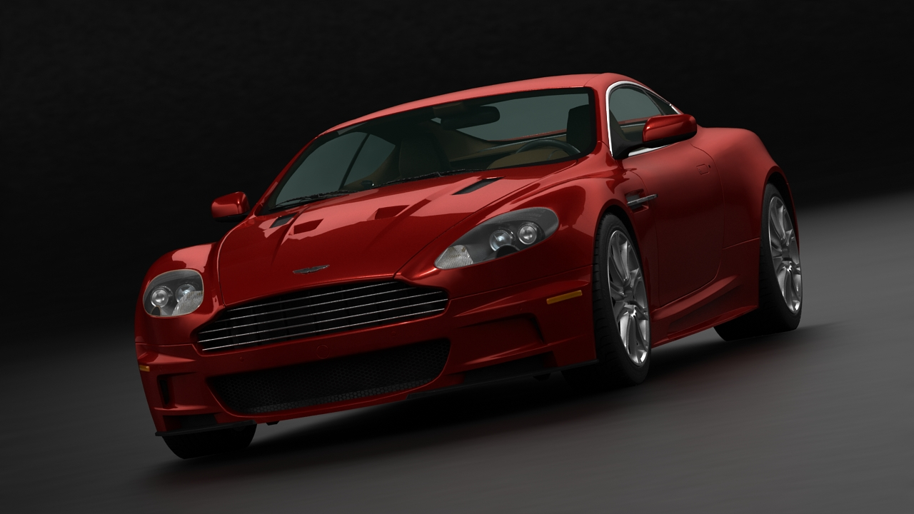 aston martin dbs 2009 3d model 3ds max fbx c4d 143834