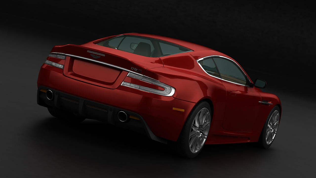 aston martin dbs 2009 3d model 3ds max fbx c4d 143835