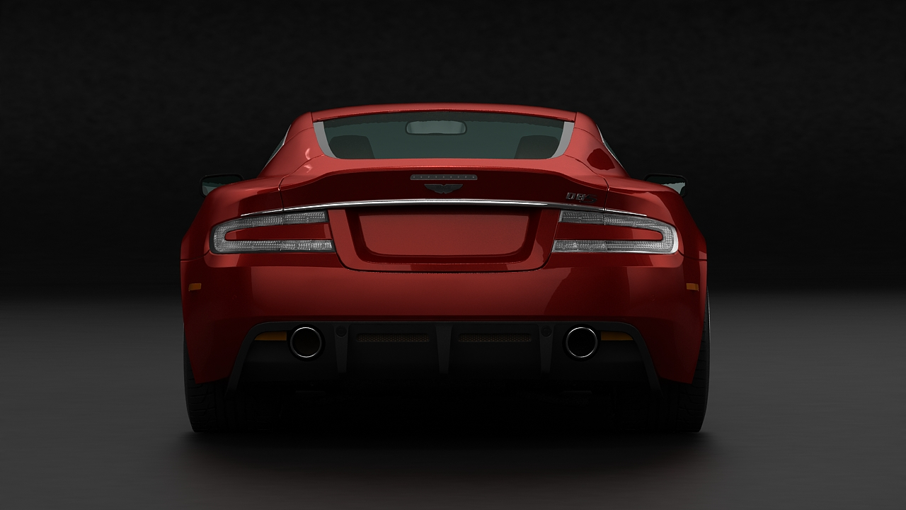aston martin dbs 2009 3d model 3ds max fbx c4d 143836