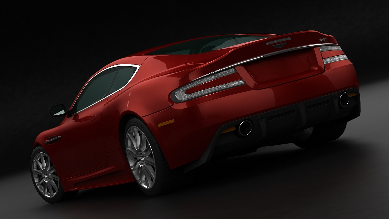aston martin dbs 2009 3d model 3ds max fbx c4d 143838