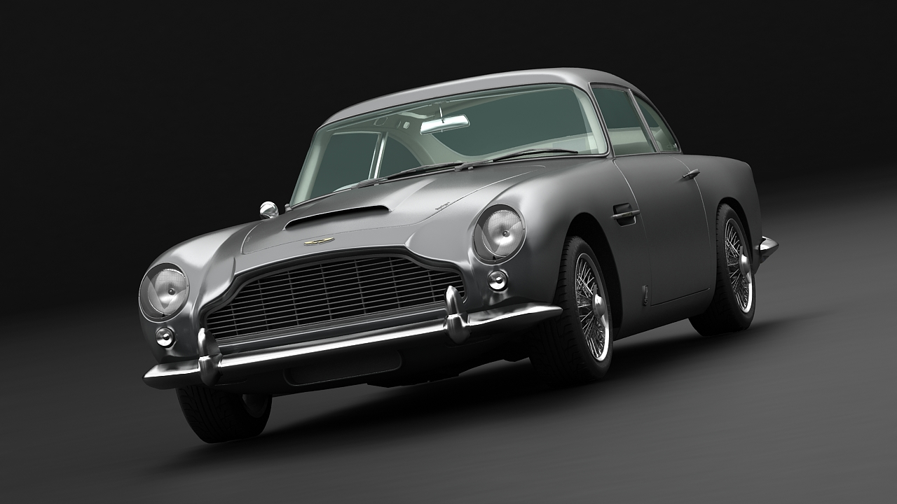 aston martin db5 vantage 1964 3d model buy aston martin db5 vantage 1964 3d model flatpyramid. Black Bedroom Furniture Sets. Home Design Ideas