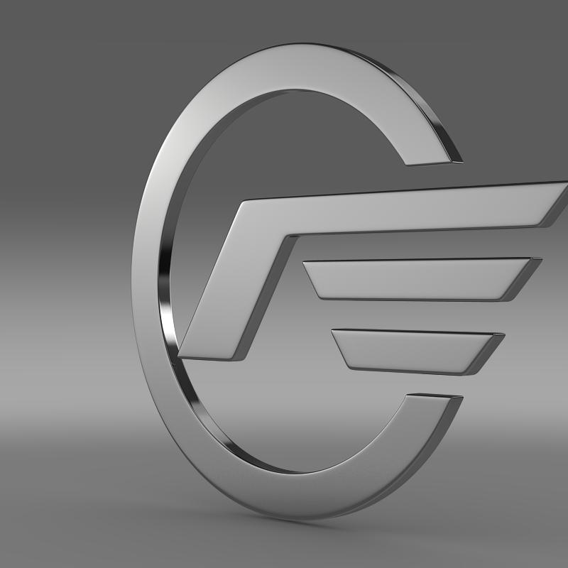 astra logotip 3d model 3ds max fbx c4d